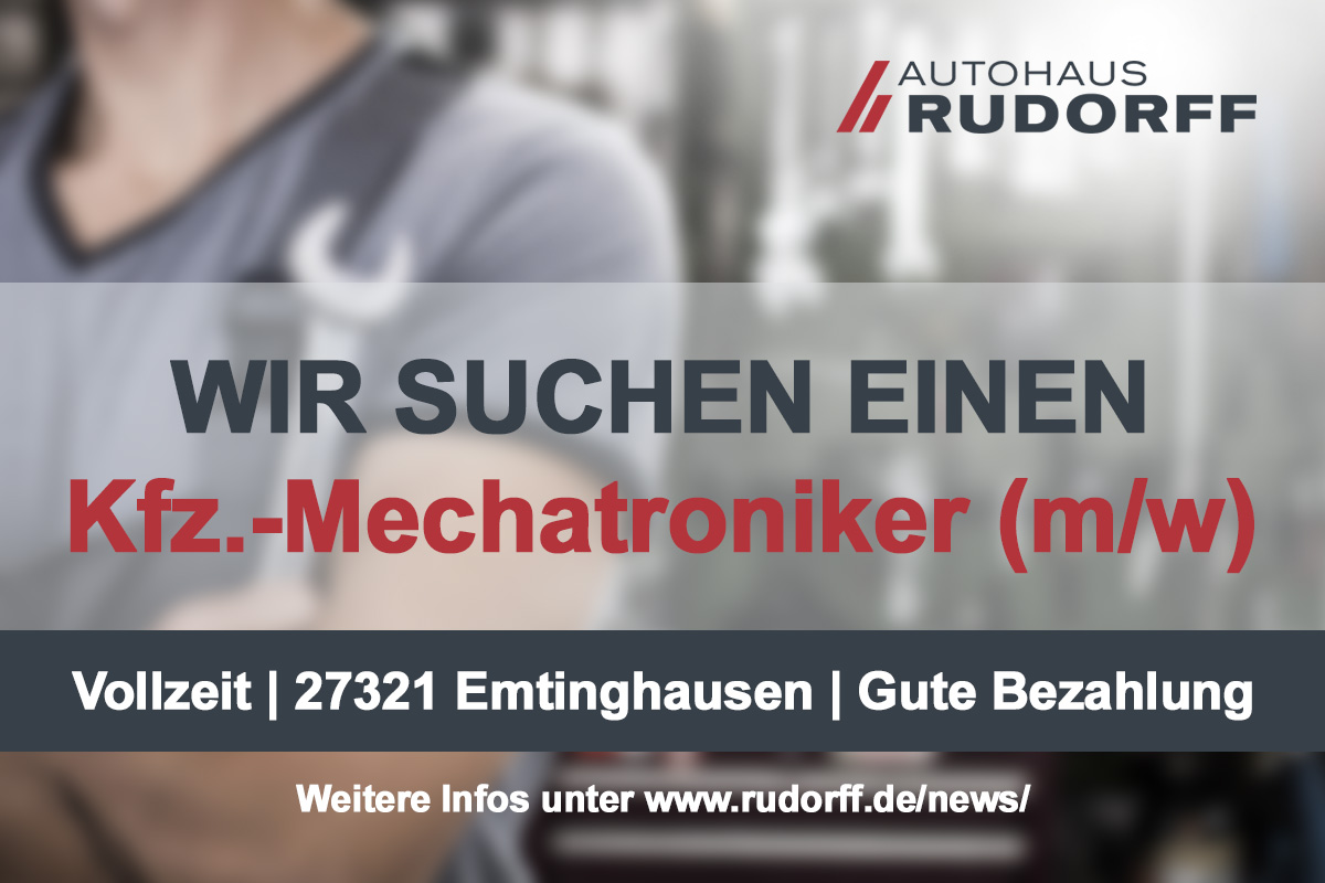 Jobangebot: Kfz.-Mechatroniker (m/w) in Emtinghausen